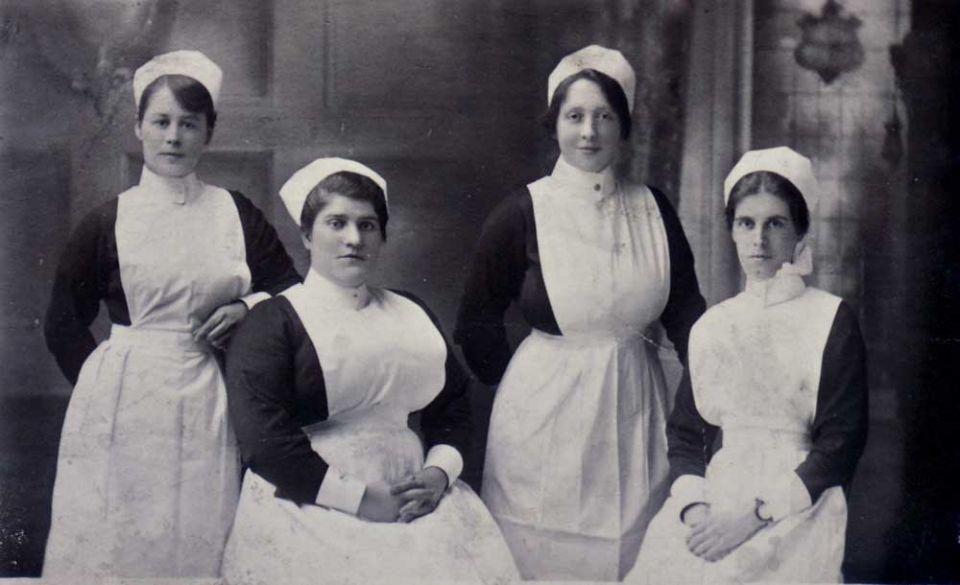 Victorian Era Fan Guide Good Evening Nurses Uniforms