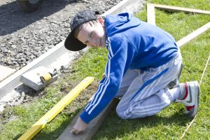 The ground work May 4, 2011