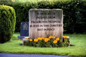 Guiseley Memorial, This is the Memorial to around 30 patients buried in Guiseley cemetery.