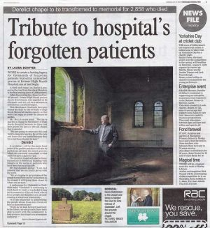 A Dream Come True, Yorkshire Evening Post 27th July 2009