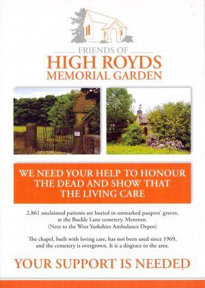 Memorial Garden Brochure