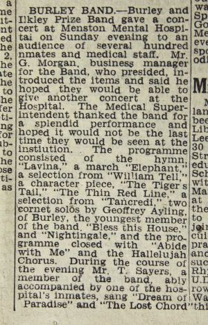 Ilkley Gazette 12th July 1947