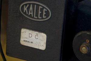 kalee dc  Serial Number 40284