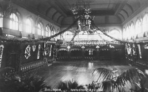 The Ballroom decorated For Harvest Festival, circa, 1914