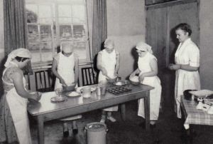 Cookery Class 1958