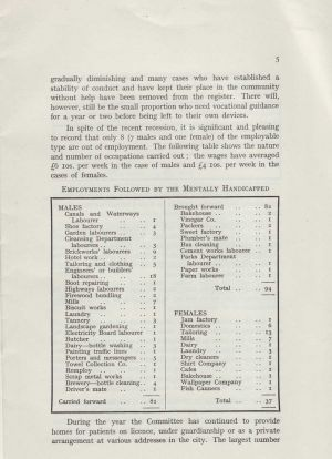 Mental Health Services 1958, page 5