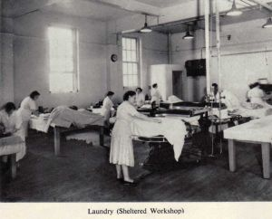Laundry, (sheltered workshop)