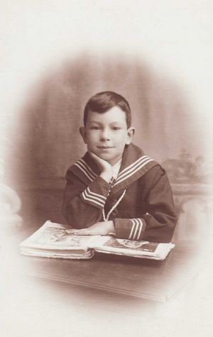 A young Fred Eric, 1916