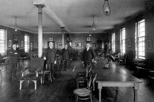 Male Day Room, 1914