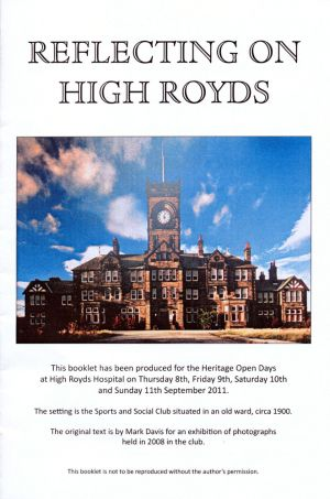 Reflecting On High Royds