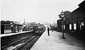 Guiseley Station 1935