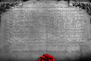 Wharncliffe War Memorial