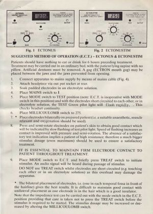 Duopulse Ect Equipment Instructions 2