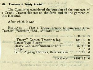 15th January 1946 Trusty Tractor