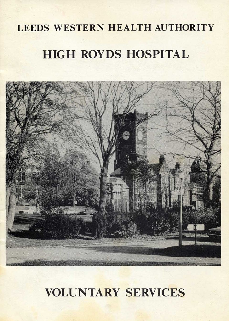 High Royds Voluntary Services Booklet