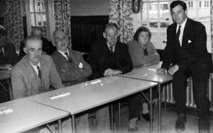 Martin Smith (Far Right) At Meanwood 1960's
