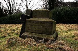 Elizabeth Machan of Melbourne, Australia, died Aprl 20th 1923, Lead Kindly Light..