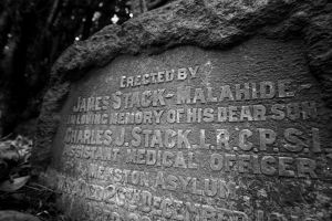 Dr. Charles Joseph Patrick Stack, buried December 12, 1916 the grave number is not recorded