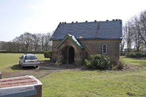 Buckle Lane chapel front elevation April 10th 2010
