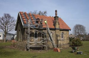 Buckle Lane chapel rear elevation April 10th 2010