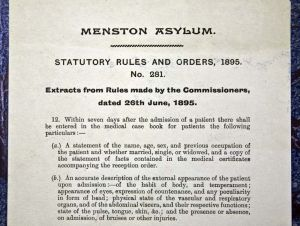 Rules and orders 1895