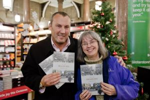 Jean at my book signing 2011, Waterstones Bradford