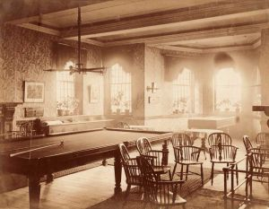Male ward Day Room, circa 1900