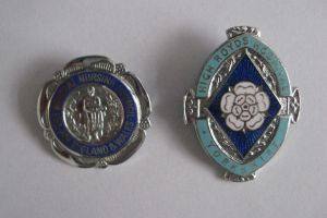 The hospital badges at that time were a work of art and your GNC badge had your name and year of qualification.