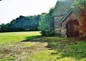 The chapel in graveyard