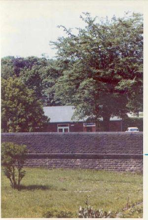 June 1973 - Photo from East Side Male Residence towards social club.