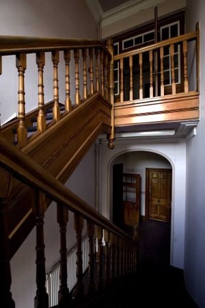 Works Office Stairs, Doctor Todd's Residence