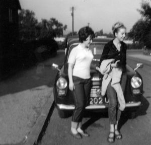 Carol and Barbara in Earlier Years