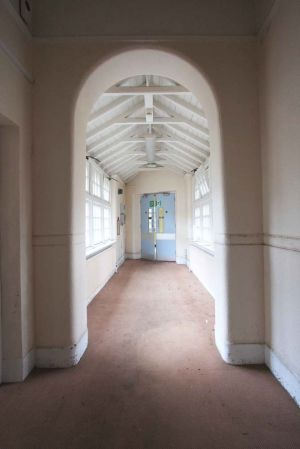 The White Tunnel leading to The Surgical Ward