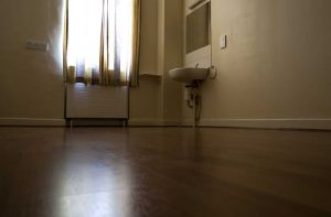 Laminate Flooring in one of The Rooms at Maple House