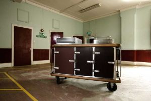 One of The Hot Plate Trolleys from High Royd's