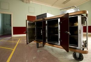 Hot Plate Trolley that was used at High Royd's