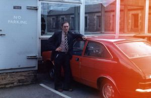 John Haworth with his Marina Coupe