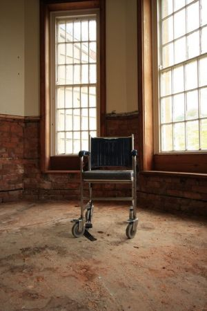 Asylum Window Chair by Large Bright Windows