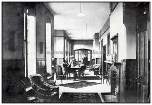 Male infirmary day room, 1903