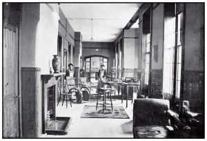 Female Infirmary, day room 1902