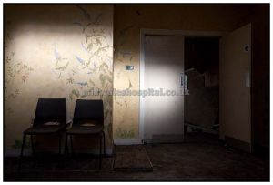 Spot Light in a Room at Talgarth