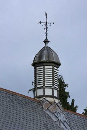 Chapel Roof, October 2007