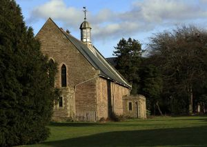Chapel side elevation  October 2007