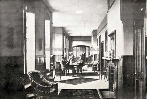 Page 23, Male infirmary, day room