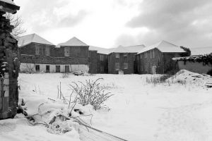 Female acute and infirmary blocks with Snow