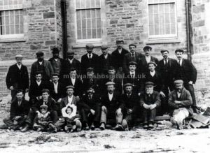 Group Of Workers Outside A Newly Completed Ward 1902