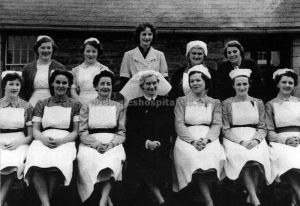 Matron Mawr And Staff 1960