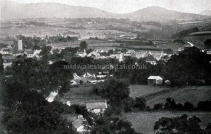 Talgarth Showing The Asylum