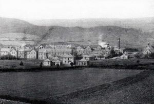 The Asylum Pictured From Cefn Mountain 1910
