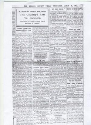 Brecon Times 1917